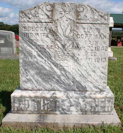 CRENSHAW COFFMAN, REBECCA - Washington County, Arkansas | REBECCA CRENSHAW COFFMAN - Arkansas Gravestone Photos