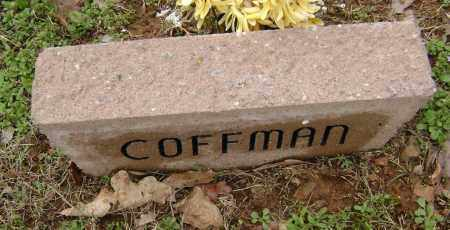 COFFMAN, UNKNOWN - Washington County, Arkansas | UNKNOWN COFFMAN - Arkansas Gravestone Photos