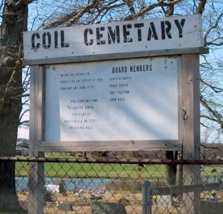 *COIL CEMETERY,  - Washington County, Arkansas |  *COIL CEMETERY - Arkansas Gravestone Photos