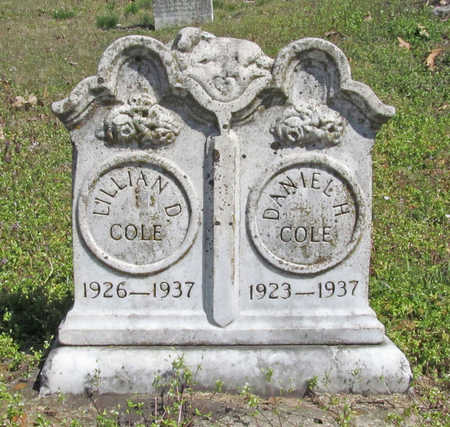 COLE, LILLIAN DORRIS - Washington County, Arkansas | LILLIAN DORRIS COLE - Arkansas Gravestone Photos