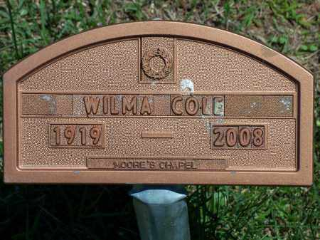 COLE, WILMA - Washington County, Arkansas | WILMA COLE - Arkansas Gravestone Photos