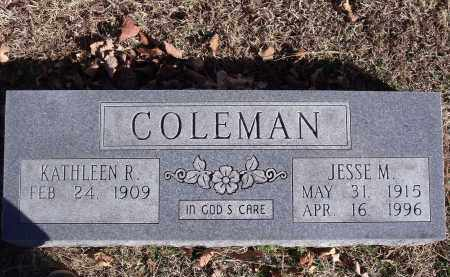 COLEMAN, EVA KATHLEEN - Washington County, Arkansas | EVA KATHLEEN COLEMAN - Arkansas Gravestone Photos