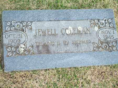 COLEMAN, JEWELL - Washington County, Arkansas | JEWELL COLEMAN - Arkansas Gravestone Photos