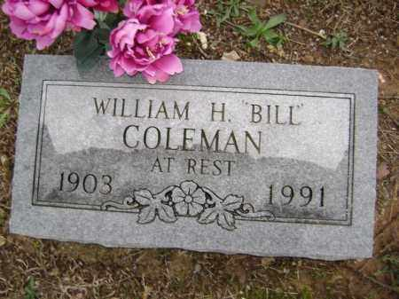 "COLEMAN, WILLIAM H. ""BILL"" - Washington County, Arkansas 