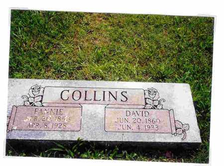 COLLINS, FRANCIS (FANNIE) C. - Washington County, Arkansas | FRANCIS (FANNIE) C. COLLINS - Arkansas Gravestone Photos