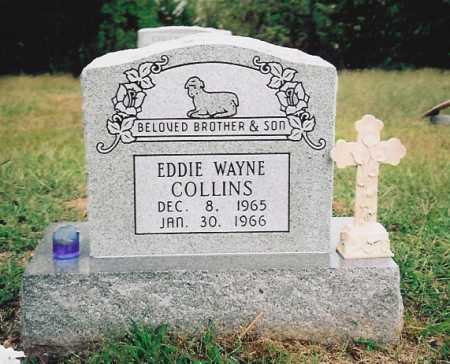 COLLINS, EDDIE WAYNE - Washington County, Arkansas | EDDIE WAYNE COLLINS - Arkansas Gravestone Photos