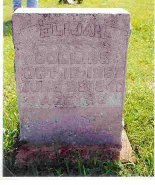 COLLINS, ELIJAH - Washington County, Arkansas | ELIJAH COLLINS - Arkansas Gravestone Photos
