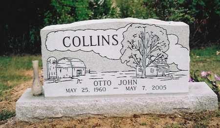 COLLINS, OTTO JOHN - Washington County, Arkansas | OTTO JOHN COLLINS - Arkansas Gravestone Photos