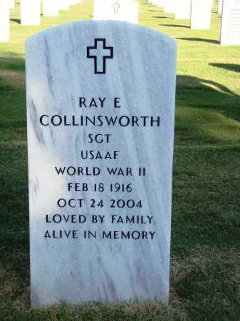 COLLINSWORTH  (VETERAN WWII), RAY EDWARD - Washington County, Arkansas | RAY EDWARD COLLINSWORTH  (VETERAN WWII) - Arkansas Gravestone Photos