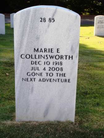 COLLINSWORTH, MARIE EVALEE - Washington County, Arkansas | MARIE EVALEE COLLINSWORTH - Arkansas Gravestone Photos
