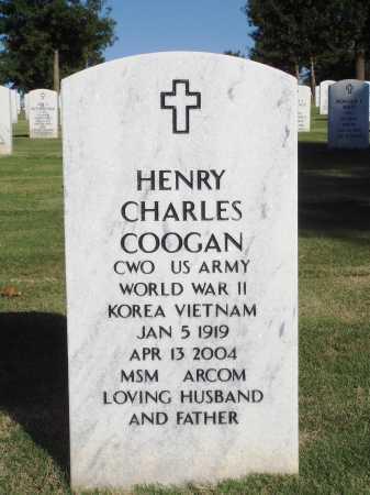 COOGAN  (VETERAN 3 WARS), HENRY CHARLES - Washington County, Arkansas | HENRY CHARLES COOGAN  (VETERAN 3 WARS) - Arkansas Gravestone Photos