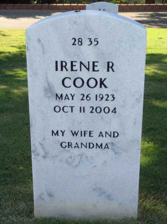 RIESSER COOK, IRENE R. - Washington County, Arkansas | IRENE R. RIESSER COOK - Arkansas Gravestone Photos