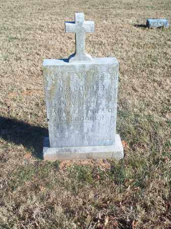 COOPER, O.R. - Washington County, Arkansas | O.R. COOPER - Arkansas Gravestone Photos