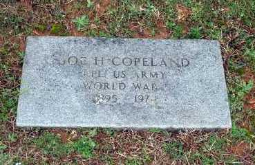 COPELAND  (VETERAN WWI), JOE H. - Washington County, Arkansas | JOE H. COPELAND  (VETERAN WWI) - Arkansas Gravestone Photos