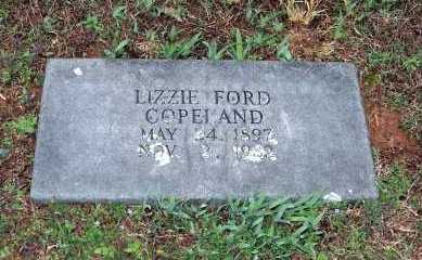 COPELAND, LIZZIE FORD - Washington County, Arkansas | LIZZIE FORD COPELAND - Arkansas Gravestone Photos