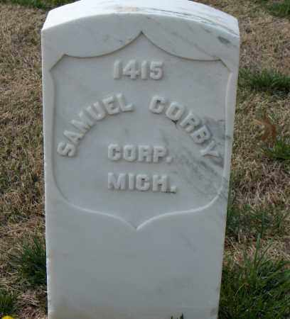 CORBY (VETERAN UNION), SAMUEL - Washington County, Arkansas | SAMUEL CORBY (VETERAN UNION) - Arkansas Gravestone Photos