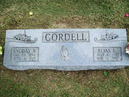 CORDELL, ELIAS L. - Washington County, Arkansas | ELIAS L. CORDELL - Arkansas Gravestone Photos
