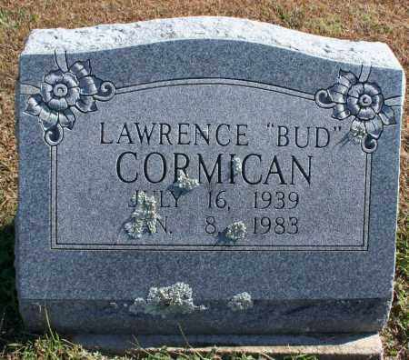 "CORMICAN, LAWRENCE ""BUD"" - Washington County, Arkansas 