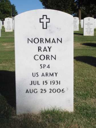 CORN  (VETERAN), NORMAN RAY - Washington County, Arkansas | NORMAN RAY CORN  (VETERAN) - Arkansas Gravestone Photos