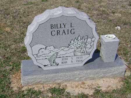 CRAIG, BILLY L - Washington County, Arkansas | BILLY L CRAIG - Arkansas Gravestone Photos