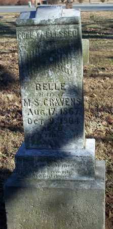CRAVENS, BELLE - Washington County, Arkansas | BELLE CRAVENS - Arkansas Gravestone Photos