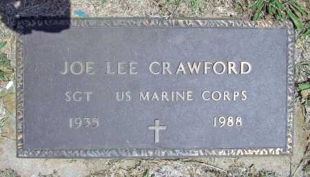 CRAWFORD  (VETERAN), JOE LEE - Washington County, Arkansas | JOE LEE CRAWFORD  (VETERAN) - Arkansas Gravestone Photos