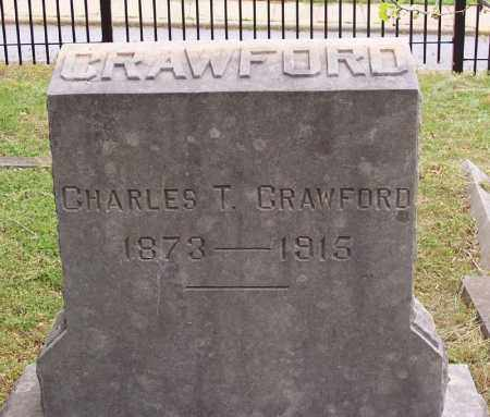CRAWFORD, CHARLES T. - Washington County, Arkansas | CHARLES T. CRAWFORD - Arkansas Gravestone Photos