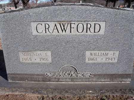 CRAWFORD, WILLIAM P. - Washington County, Arkansas | WILLIAM P. CRAWFORD - Arkansas Gravestone Photos