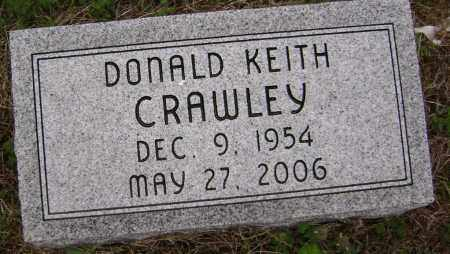 CRAWLEY, DONALD KEITH - Washington County, Arkansas | DONALD KEITH CRAWLEY - Arkansas Gravestone Photos