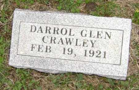 CRAWLEY, DARROL GLEN - Washington County, Arkansas | DARROL GLEN CRAWLEY - Arkansas Gravestone Photos