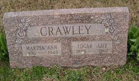 CRAWLEY, EDGAR GUY - Washington County, Arkansas | EDGAR GUY CRAWLEY - Arkansas Gravestone Photos
