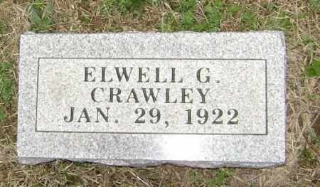 CRAWLEY, ELWELL G. - Washington County, Arkansas | ELWELL G. CRAWLEY - Arkansas Gravestone Photos