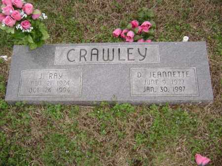 CRAWLEY, D. JEANNETTE - Washington County, Arkansas | D. JEANNETTE CRAWLEY - Arkansas Gravestone Photos
