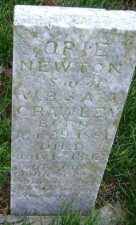 CRAWLEY, ORIE NEWTON - Washington County, Arkansas | ORIE NEWTON CRAWLEY - Arkansas Gravestone Photos