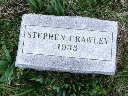 CRAWLEY, STEPHEN - Washington County, Arkansas | STEPHEN CRAWLEY - Arkansas Gravestone Photos