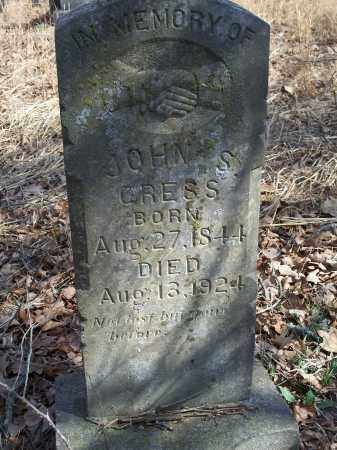 CRESS, JOHN S. - Washington County, Arkansas | JOHN S. CRESS - Arkansas Gravestone Photos