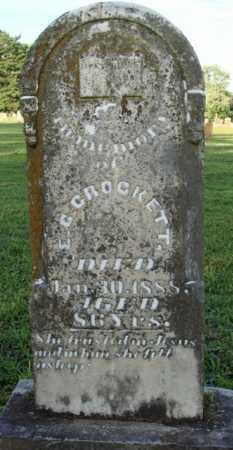 CROCKETT, E. C. - Washington County, Arkansas   E. C. CROCKETT - Arkansas Gravestone Photos