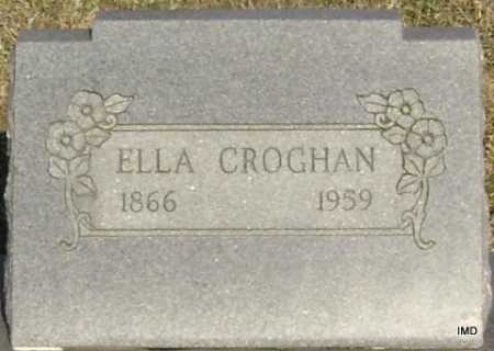 CROGHAN, ELLA - Washington County, Arkansas | ELLA CROGHAN - Arkansas Gravestone Photos