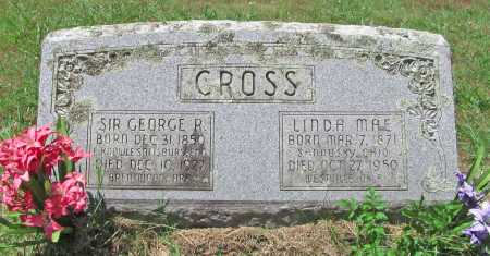 CROSS, SIR GEORGE R - Washington County, Arkansas | SIR GEORGE R CROSS - Arkansas Gravestone Photos