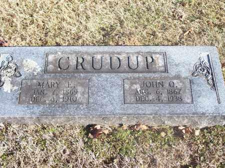 CRUDUP, JOHN Q. - Washington County, Arkansas | JOHN Q. CRUDUP - Arkansas Gravestone Photos
