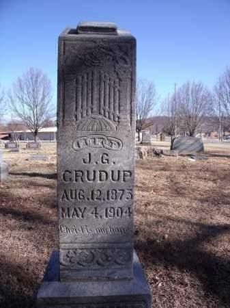 CRUDUP, J G - Washington County, Arkansas | J G CRUDUP - Arkansas Gravestone Photos