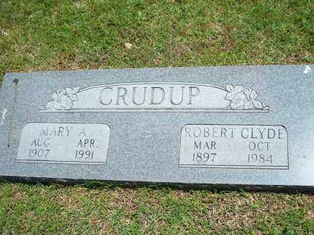 CRUDUP, MARY A. - Washington County, Arkansas | MARY A. CRUDUP - Arkansas Gravestone Photos