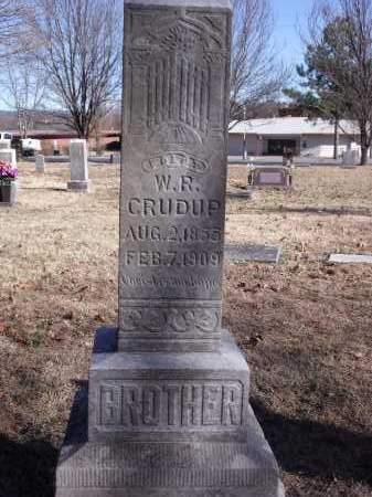 CRUDUP, W.R. - Washington County, Arkansas | W.R. CRUDUP - Arkansas Gravestone Photos