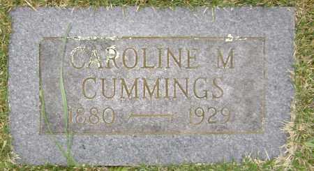 CUMMINS, CAROLINE M. - Washington County, Arkansas | CAROLINE M. CUMMINS - Arkansas Gravestone Photos