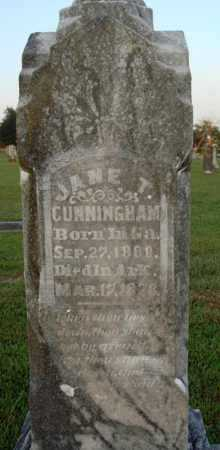 CUNNINGHAM, MARY JANE - Washington County, Arkansas | MARY JANE CUNNINGHAM - Arkansas Gravestone Photos