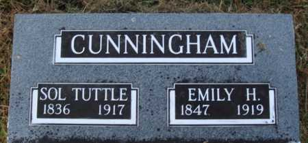 CUNNINGHAM, SOL TUTTLE - Washington County, Arkansas | SOL TUTTLE CUNNINGHAM - Arkansas Gravestone Photos