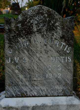 CURTIS, JOHN A. - Washington County, Arkansas | JOHN A. CURTIS - Arkansas Gravestone Photos