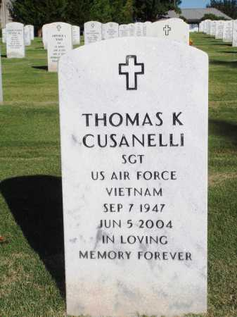CUSANELLI  (VETERAN VIET), THOMAS KEVIN - Washington County, Arkansas | THOMAS KEVIN CUSANELLI  (VETERAN VIET) - Arkansas Gravestone Photos