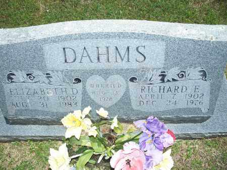 DAHMS, RICHARD EMIL - Washington County, Arkansas | RICHARD EMIL DAHMS - Arkansas Gravestone Photos