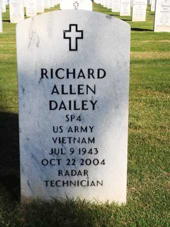 DAILEY  (VETERAN VIET), RICHARD ALLEN - Washington County, Arkansas | RICHARD ALLEN DAILEY  (VETERAN VIET) - Arkansas Gravestone Photos
